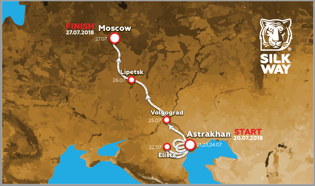 Mapa-SilkWayRally